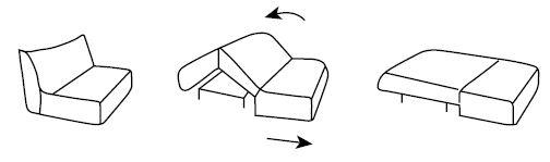 Механизм Аккордеон - фото 1
