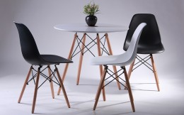 Комплект для ресторана стол Helis + 3 стула Aster PL Wood