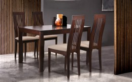 Обеденный комплект стол Милтон + стулья Лейтон Беж