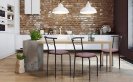 Комплект кухонных стульев Маркос черный Неаполь-04