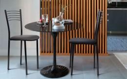 Комплект кухонных стульев Оливия хром Неаполь-20