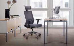 Рабочее место кресло Link + стол Сигма SIG-102 Вяз Либерти Дымчатый