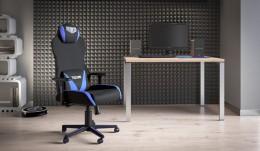 Кабинет руководителя стол Сигма + кресло VR Racer Techno Soul